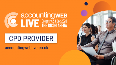 AccountingWEB Live to offer CPD points at new accounting exhibition