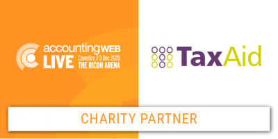 TaxAid announced as Charity Partner for AccountingWEB Live