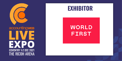 New Exhibitor Announced: WorldFirst